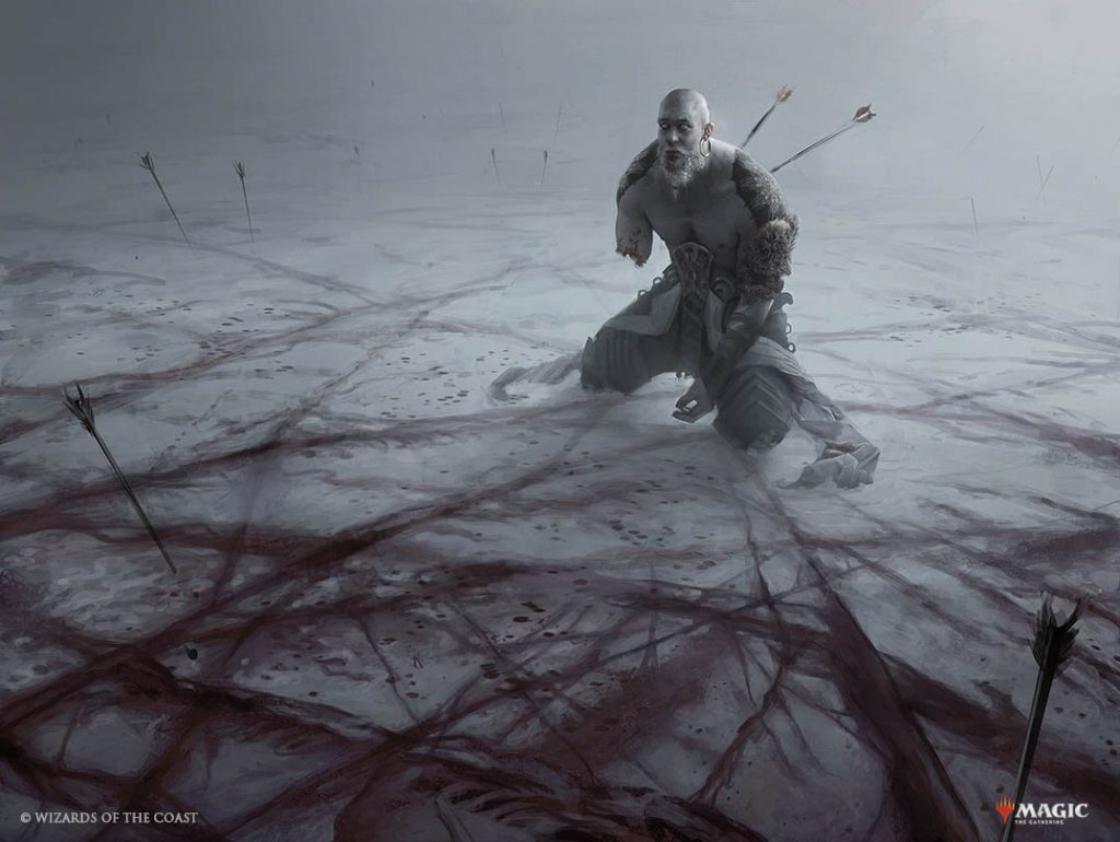 Blood on the Snow - Illustration by Martina Fackova