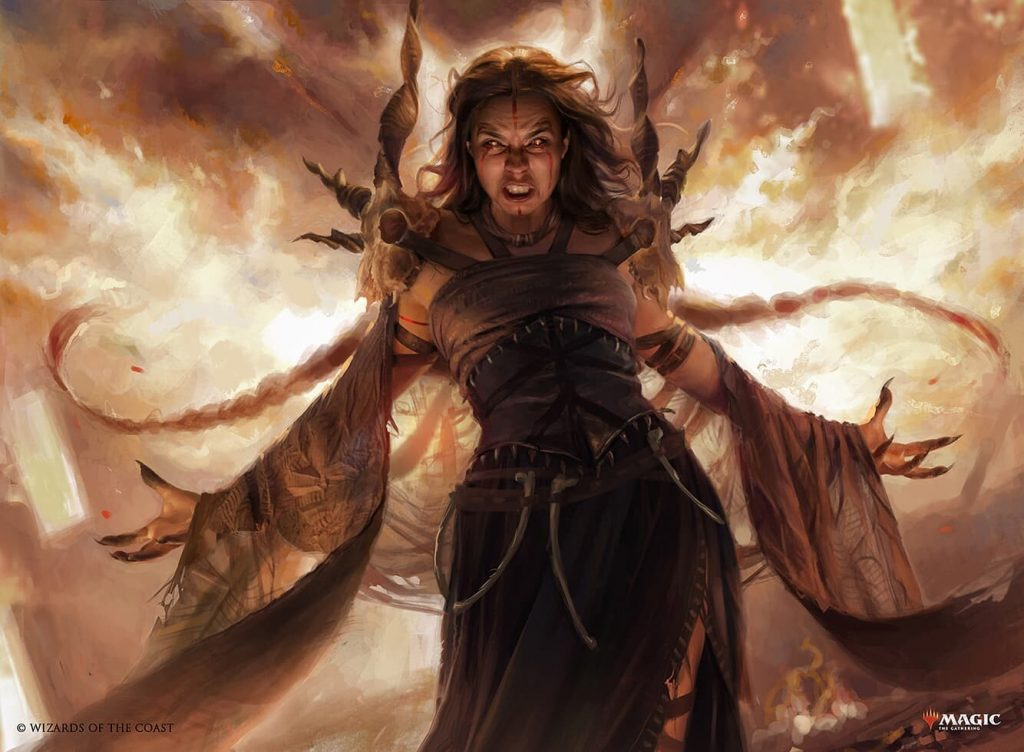 Dragon's Rage Channeler - Illustration by Martina Fackova