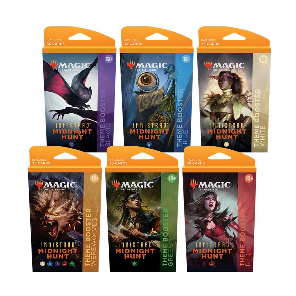 Midnight Hunt theme boosters