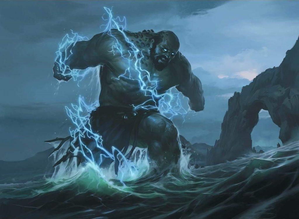 Prophetic Titan - Illustration by Slawomir Maniak