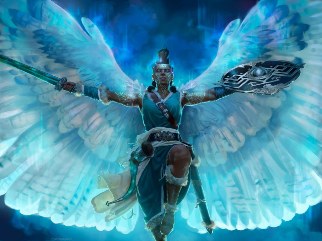 Reidane, God of the Worthy - Illustration by Jason Rainville
