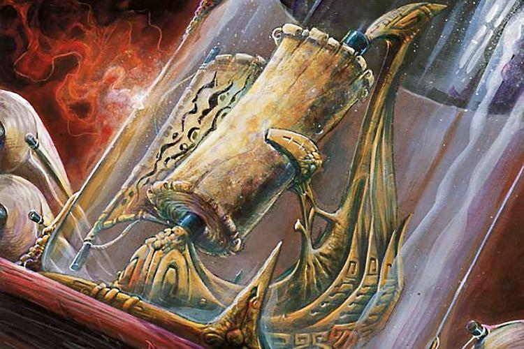 Scroll of Origins - Illustration by Dany Orizio