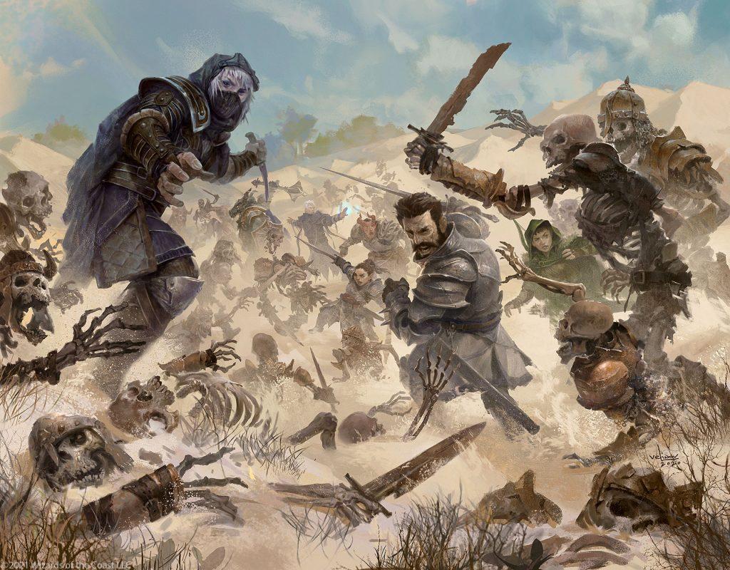 Skeletal Swarming - Illustration by Svetlin Velinov