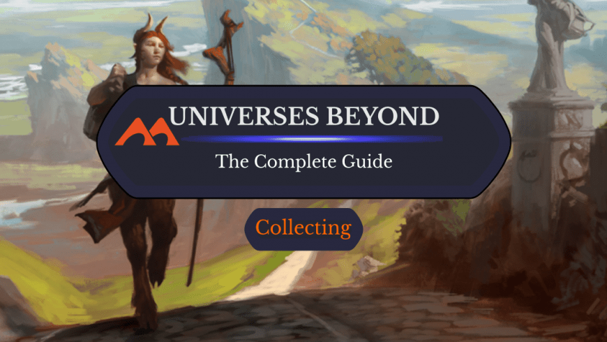The Complete List of MTG Universes Beyond Products