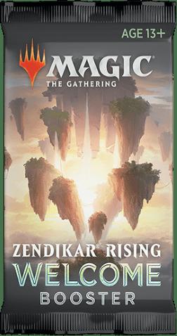 Zendikar Rising welcome booster pack
